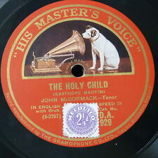 78rpm JOHN McCORMACK the holy child / just for today
