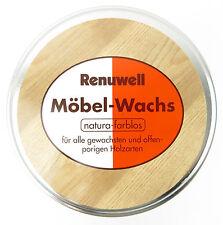 möbel-wachs renuwell 500ml Naturale INCOLORE CERA LEGNO per mobili trasparente