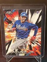 2018 Topps Fire Ronald Acuna Jr. Rookie #109 Atlanta Braves RC Mint