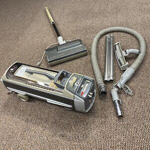 ELECTROLUX CANISTER VACUUM CLEANER SILVERADO DELUXE MODEL 1505 set - hose damage