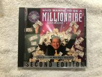 Who Wants to be a Millionaire Second Edition CD ROM PC Video Game-VG Disk