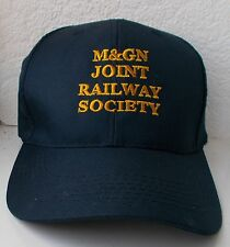 M&GN Baseball Cap with Embroidered Lettering