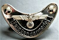 WW2 GERMAN MILITARY  BADGE EAGLE AND IRON CROSS F/GENDARMERIE REPRO NICE
