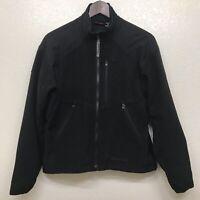 Marmot Women's Windstoper Wool Fleece Zip Up Jacket Black Size Medium