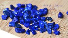 Tumbled Crystal Gemstone Lapis Lazuli 5g Chip Stone with Holes DIY Bstone Libra