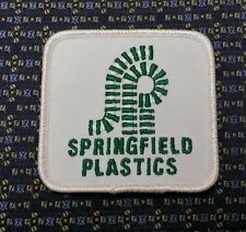 SPRINGFIELD PLASTICS  Iron or Sew-On Patch
