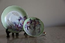 Fantastic vintage Shafford Japan Hand Painted Cup and Saucer (68)