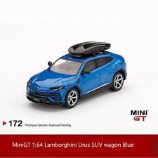 Preorder MiniGT 1:64 Lamborghini Urus SUV wagon Blue