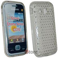 Cover Custodia Per Samsung Champ Deluxe C3310 Trasparente Gel Silcone TPU