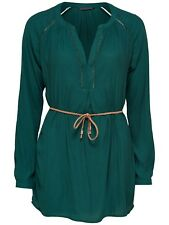 15/15 NEU ONLY Damen Tunika Bluse Shirt onlLOUIS SOLID L/S TUNIC WVN Gr. 38