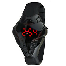 LED Digital Watch Men's Cobra Triangle Dial Silicone Sports Watches Fashion  CH