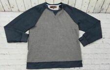 PD&C Paper Denim Cloth Gray Casual Sweater Pullover Men's Size L