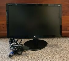 """COMPAQ S1922a 18.5"""" Widescreen LCD Monitor WM767A with built-in speakers"""