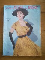 LE PETIT ECHO DE LA MODE N°29 - 1954