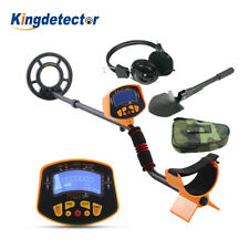 MD-3010II Metal Detector w/Headphone & Shovel Deep Trasure Hunter LCD Display