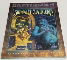 SKY POINT ADVENTURES EARTHDAWN ROLEPLAYING rpg By Carl Sargent NEW FASA 6306