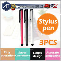 3X Universal Stylus Pen Touch Screen Pencil For iPhone Samsung iPad Pen Table
