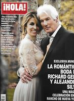 Richard Gere Hola Magazine Alejandra Silva Wedding Prince Harry Meghan Markle