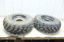 14 Polaris Sportsman 570 EFI ATV rear back wheels rims and tires