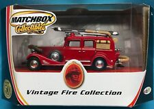 2001 Matchbox Vintage Fire Collection YFE-03 1933 Cadillac V-16 Fire Wagon