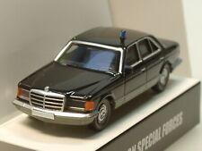 Wiking Mercedes 500 SE (W126) Staatslimousine BKA, gepanzert - 0157 53 - 1:87