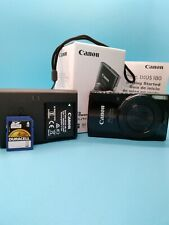 Canon PowerShot ELPH 190 IS 20 MP Digital Camera - Black (Body Only)