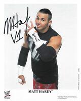 WWE MATT HARDY P-819 HAND SIGNED AUTOGRAPHED 8X10 PROMO PHOTO WITH PIC PROOF COA