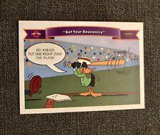1991 Upper Deck Comic Ball 2 #182 Get your Souvenirs Daffy Duck Oakland A's