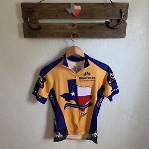 Bike Texas Flag cycling jersey Women's Size Medium