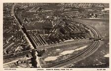 Air Aerial View Lincoln Robey's Works unused RP pc Aerofilms