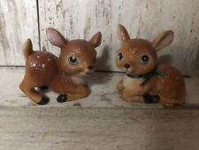 New ListingHomco Home Interiors Pair Of Deer Figurines