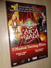DVD L'ARCA DI GIADA MUSICAL FANTASY 3DLIVE DI TONI VERDE MAZZOCCHETTI LEON