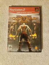 God of War II (Sony PlayStation 2, 2007) PS2 Greatest Hits NEW SEALED