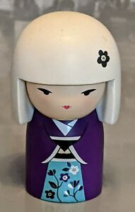 KIMMIDOLL COLLECTION - MIUCHI - 11cm - JAPANESE KOKESHI DOLL - EASTERN CULTURE