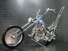 Harley Davidson Motorcycle w/ Easy Rider Bike Frame & Engine Motor Chopper Model