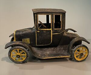 "1920s BUDDY L Pressed Steel FLIVVER ""MODEL A"" COUPE"