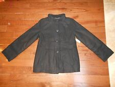 Old Navy Girls Black Wool Blend Jacket Size Xxl (16) Nwt