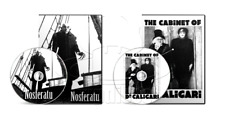 Nosferatu (1922) The Cabinet of Dr. Caligari (1920) Horror Movie Set (2 x DVD)