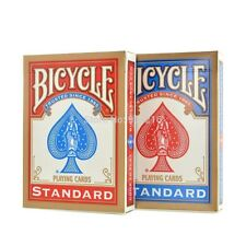 1 pair of RED & BLUE Bicycle Standard Playing Cards
