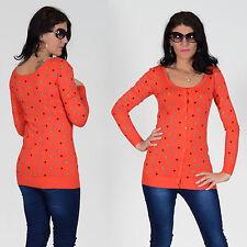 Lange Langarm Damen-Pullover & -Strickware aus Baumwollmischung