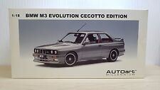 1/18 AUTOart BMW M3 EVOLUTION CECOTTO Edition GRAY diecast car model MINT