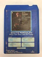 8 Track Tape Boots Randolph Plays The Great Hits of Today Monument - TESTED