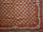 VINTAGE HORSESHOE MOTIF SCARF IN EXCELLENT CONDITION