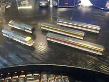 Graham Farish HST125 INTER CITY SWALLOW LIVERY with 3 coaches, needs repairs