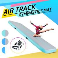 Inflatable 10Ft Gymnastics Mat Air Track Tumbling Mat Drop Stitch Portable New