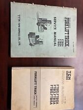 Tcm Forklift Shop Service & Parts Manuals Pb-748E Seb-705Ae