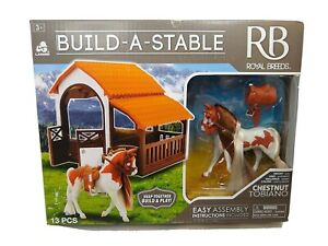 Royal Breeds  Build A Stable  Chestnut Tobiano  New Ages 3+