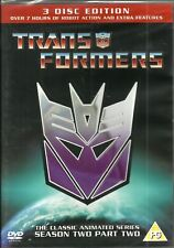 Transformers: Season 2 Part 2. 80's Series, 3 Disc Set. Brand New In Shrink!