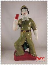 A963 China Figur Rotgardisten Mao Zedong Mao Tse-tung Kulturrevolution  H27X12X8