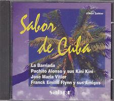 SABOR DE CUBA - various artists CD